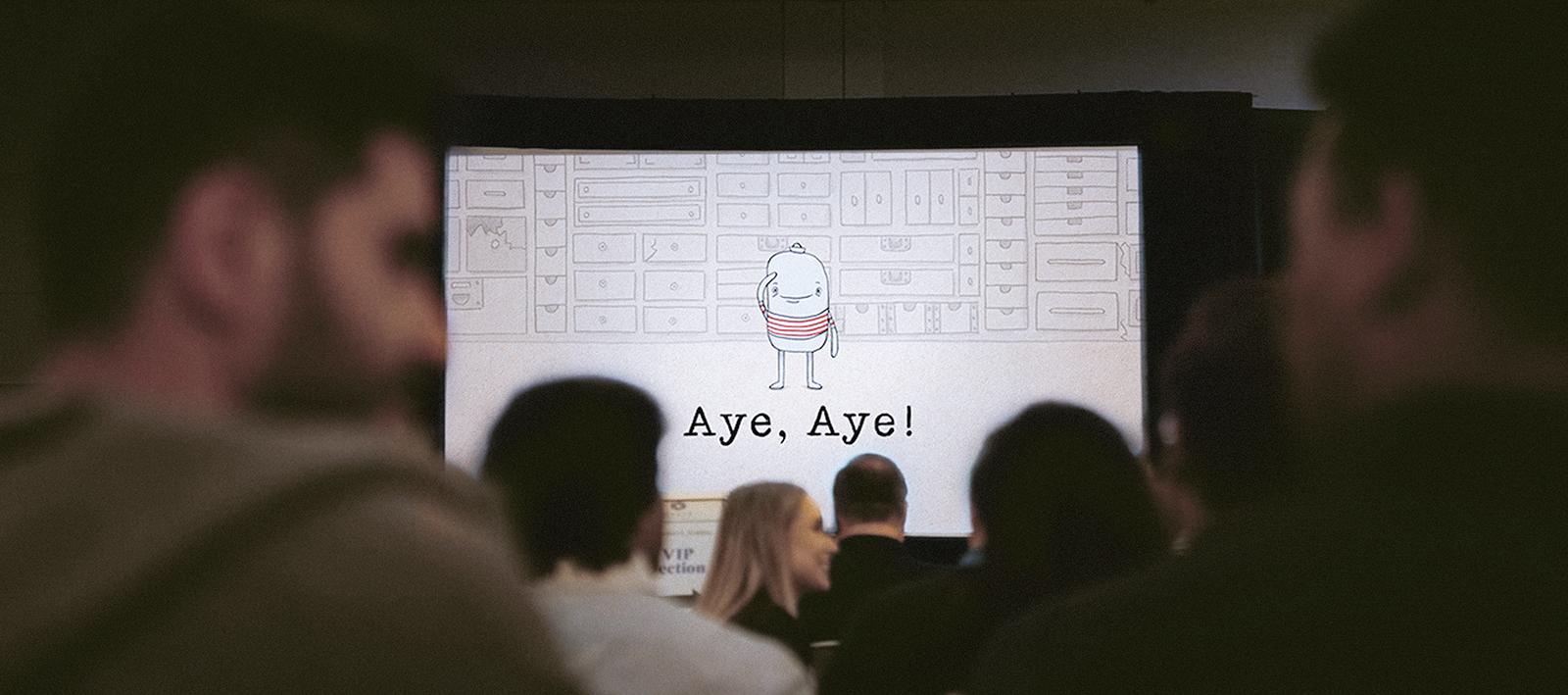 Aye, aye!